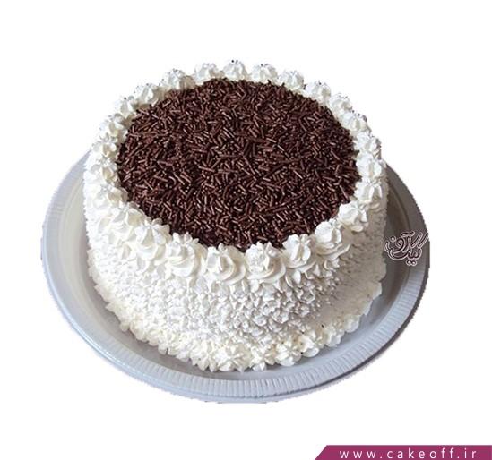 کیک تولد ساده - کیک خامه ای السید | کیک آف