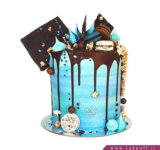 خرید آنلاین کیک - کیک زیبا - کیک چکه های یک رویا | کیک آف