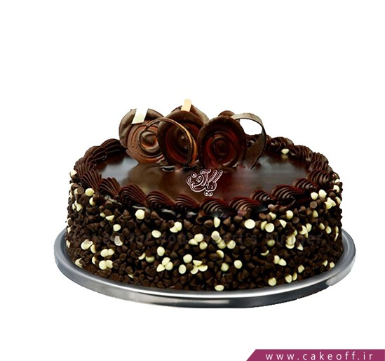 کیک تولد خامه ای - کیک شکلاتی فرشتگان چارلی   کیک آف