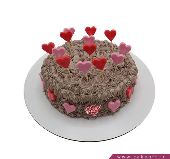 کیک عاشقانه - صدای قلبت | کیک آف