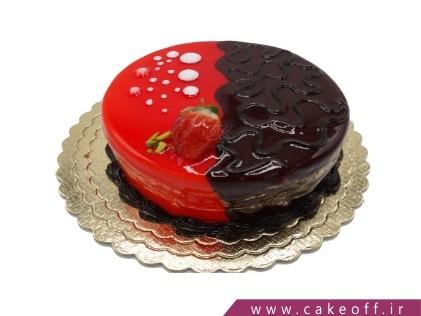 کیک شکلاتی ساده - کیک نیمه شکلات | کیک آف