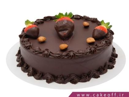 کیک شکلاتی ساده - کیک شکلاتی بانو | کیک آف
