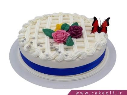 کیک بی بی و پروانه های زیبا | کیک آف