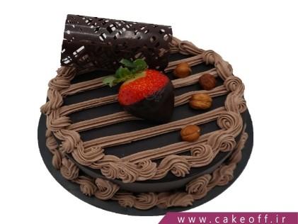کیک شکلاتی ساده فندقی | کیک آف