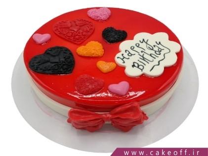 کیک وانیلی - کیک تولد ساده دیبا | کیک آف