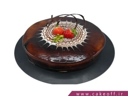کیک شکلاتی شمسه | کیک آف