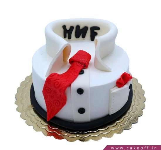 انواع کیک تولد - کیک عمو قناد و پیراهن زیبا | کیک آف