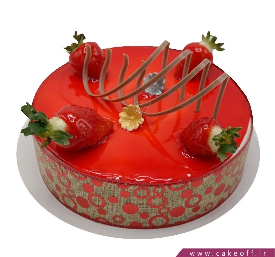 کیک ساده - کیک وانیلی تینا   کیک آف