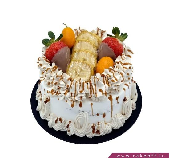 کیک عمو نوروز و باغ میوه