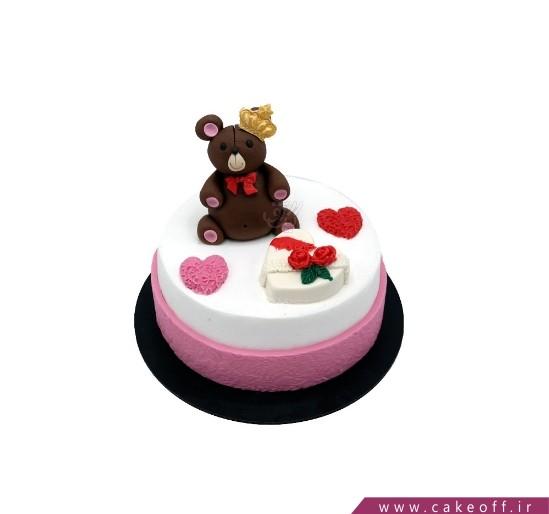کیک آریا خرسی | کیک آف