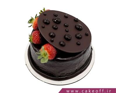 کیک ساده شکلاتی - کیک تولد درب شکلاتی | کیک آف