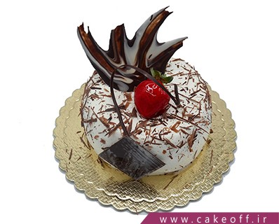 کیک تولد زیبا - کیک تولد بی بی تاج | کیک آف