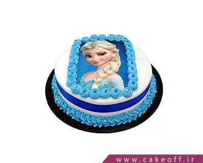 کیک تولد دخترانه جدید - کیک السا چاپی | کیک آف
