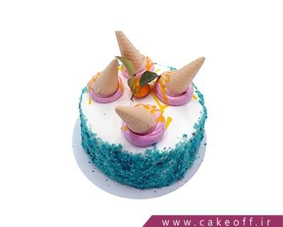 کیک وانیلی قیف کیکی | کیک آف
