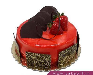 کیک وانیلی شکلات های زیبا | کیک آف