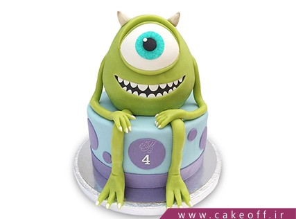 کیک فانتزی کارخانه هیولاها 1 | کیک آف