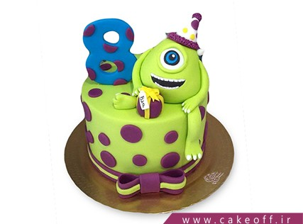 انواع کیک تولد - کیک کارخانه هیولاها 3 | کیک آف
