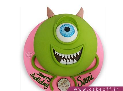 انواع کیک تولد - کیک کارخانه هیولاها 4 | کیک آف