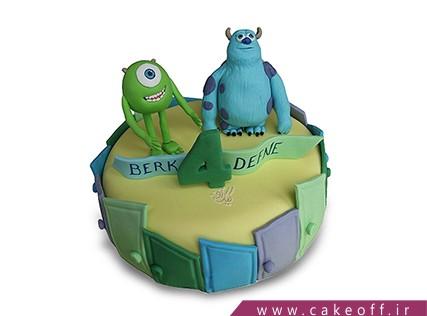 انواع کیک تولد - کیک کارخانه هیولاها 6 | کیک آف