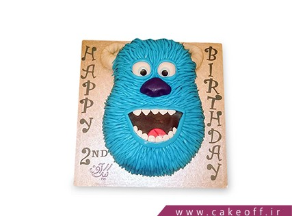 انواع کیک تولد - کیک کارخانه هیولاها 7 | کیک آف