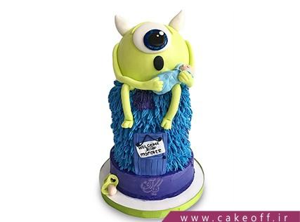 کیک شخصیت های کارتونی - کیک کارخانه هیولاها 8 | کیک آف