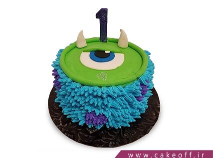 کیک شخصیت های کارتونی - کیک کارخانه هیولاها 9 | کیک آف