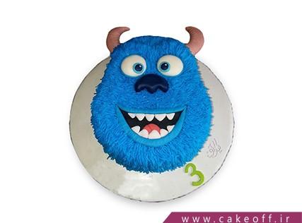 کیک شخصیت های کارتونی - کیک کارخانه هیولاها 10 | کیک آف