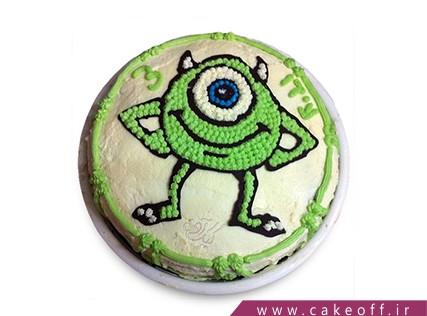کیک شخصیت کارتونی - کیک کارخانه هیولاها 12 | کیک آف