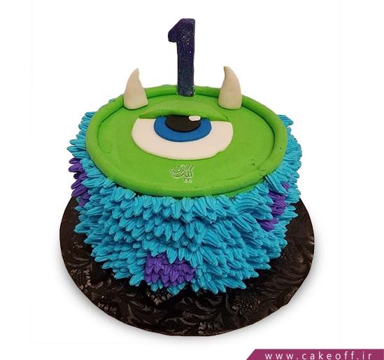 کیک شخصیت های کارتونی - کیک کارخانه هیولاها ۹   کیک آف