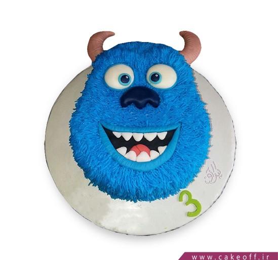کیک شخصیت های کارتونی - کیک کارخانه هیولاها ۱۰   کیک آف
