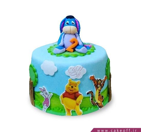کیک کارتونی اییور 4   کیک آف