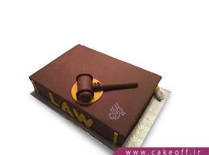 کیک تولد کتاب - کیک کتاب 9 | کیک آف