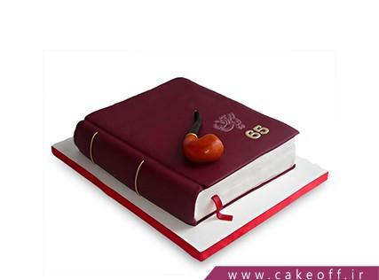 کیک تولد کتاب - کیک کتاب 6 | کیک آف