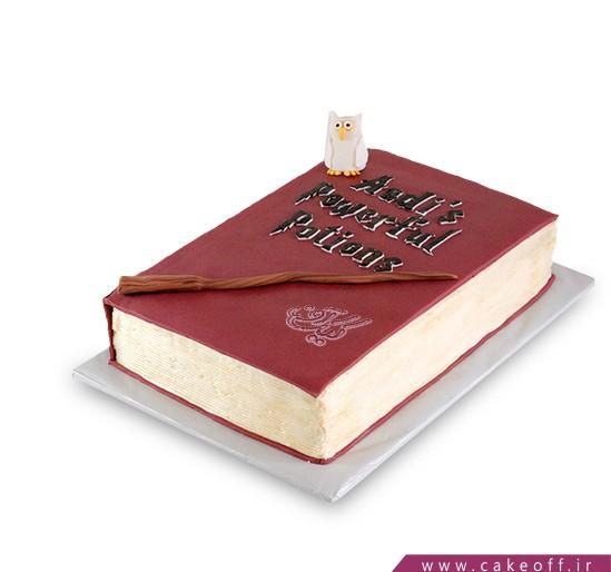 کیک کتاب 7