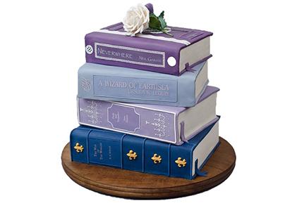 کیک کتاب یار مهربان - کیک تولد | کیک آف