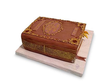 کیک کتاب دانش | کیک آف