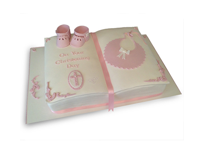 خرید کیک تولد - کیک کتاب آغاز | کیک آف