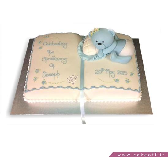 کیک تولد بچه گانه قصه شب