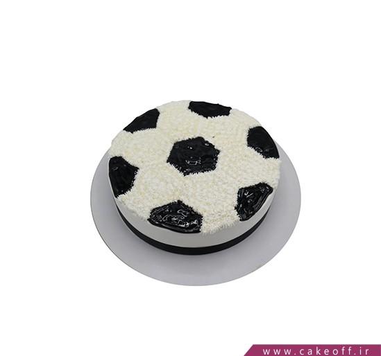 کیک فوتبالی چهل تیکه