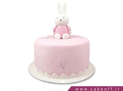 کیک تولد حیوانات - کیک خرگوش 3 | کیک آف