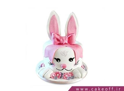 کیک تولد حیوانات - کیک خرگوش 4 | کیک آف
