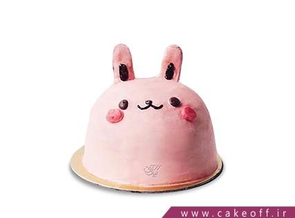 کیک تولد بچگانه - کیک خرگوش 25 | کیک آف