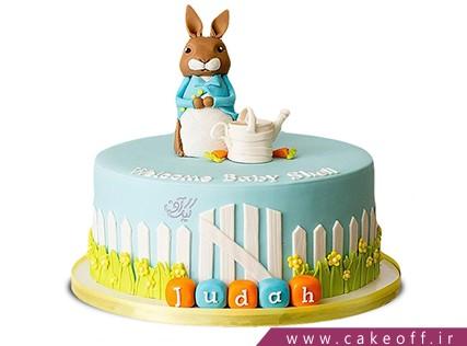 کیک تولد بچگانه - کیک خرگوش 31 | کیک آف
