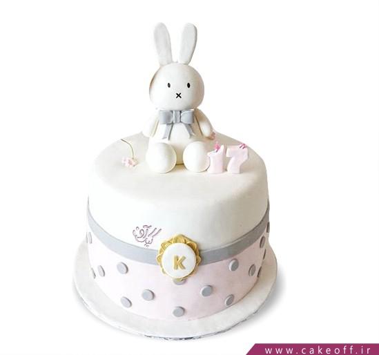 کیک تولد بچگانه - کیک خرگوش 24 | کیک آف