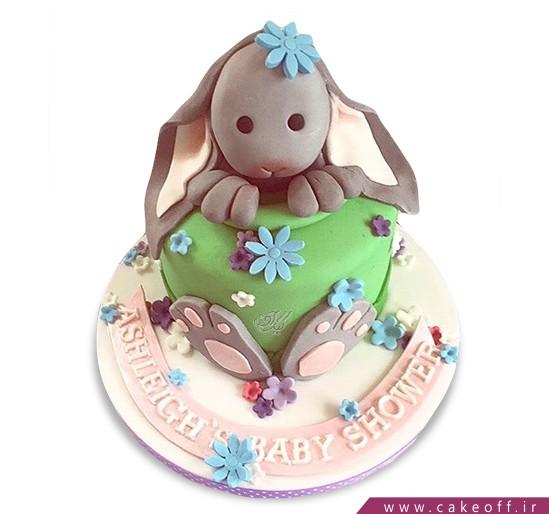 کیک تولد بچگانه - کیک خرگوش 28 | کیک آف
