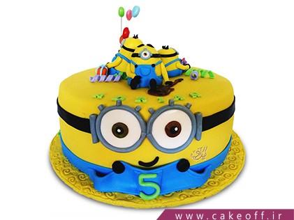 سفارش کیک تولد مینیون - کیک جشن مینیون ها | کیک آف
