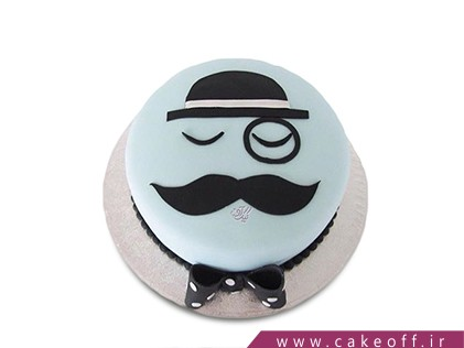 سفارش کیک روز مرد - کیک پوآرو 2 | کیک آف