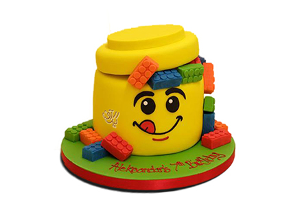 سفارش کیک تولد کودک - کیک تولد بچه گانه لگو | کیک آف