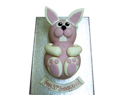 سفارش کیک در اصفهان - کیک خرگوش خندان | کیک آف