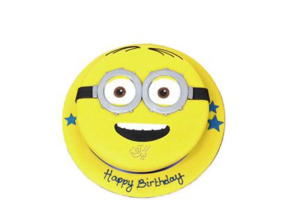 کیک تولد - کیک مینیون خندان | کیک آف